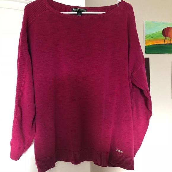 Lauren Ralph Lauren Sweaters - 🔥Sale🔥Lauren Ralph Lauren Active Magenta XL